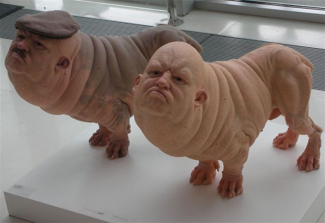 disturbing shaved human dogs hybrids   ozini